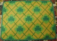 ST PATRICKS DAY RUG YELLOW GREEN SHAMROCKS BATH BEDROOM KITCHEN DECORATION NEW