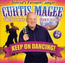 CURTIS MAGEE - KEEP ON DANCING - 29 GREAT SONGS - CD 29 (NEW SEALED CD)