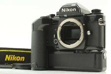 [ EXC+ 5] Nikon FA 35mm Reflex Film Caméra Noire Corps Avec / MD-12 De Japon 543