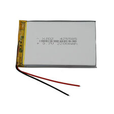 3.7V 2200 mAh Rechargeable Polymer Li battery For GPS PDA iPod Tablet PC 425585