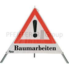 "NESTLE Warnpyramide ""Holzfällung / Baumarbeiten / Baumfällung"" Faltsignal"