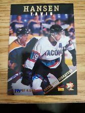 1995 Signature Rookies Travis Hansen AUTO 795/4500
