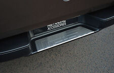 CHROME REAR DOOR BUMPER SILL PROTECTOR STEEL COVER TRIM FOR VW VOLKSWAGEN AMAROK