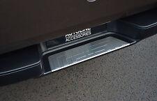 CHROME REAR DOOR BUMPER SILL PROTECTOR STEEL COVER TRIM FOR VW VOLKSWAGEN AMAROK