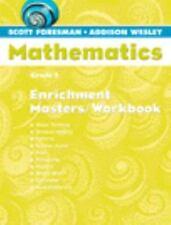 Scott Foresman-Addison Wesley Mathematics: Grade 4 : Homework Workbook