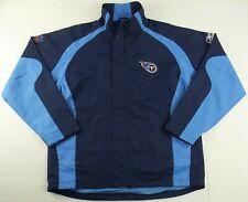 Vintage Reebok On Field NFL Tennessee Titans Football Jacket Size Mens Medium M