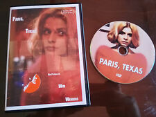 PARIS TEXAS DVD SLIM WIM WENDERS ESPAÑOL ENGLISH PELICULA DE CULTO!!!