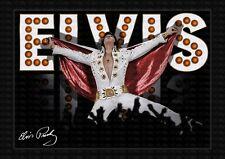 More details for elvis presley - elvis on tour - signed original a4 photo print memorabi