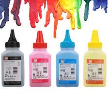 Set of 4 color Universal Color Printer Laser Toner Refill For HP LaserJet Canon