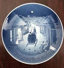 """B&G Bing And Grondahl Blue Christmas Plate. 1979 """"White Christmas"""""""