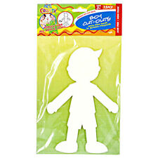 15pce Boy Paper Cut Outs - DIY Fun Kids Craft