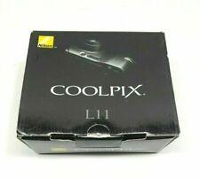 Nikon COOLPIX L11 6.0 MP Digital Camera - Matte Silver - Complete Kit