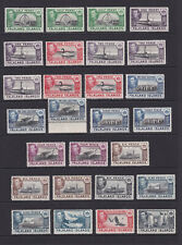 Falkland Islands. 1938-50. 1/2d to 2/6. Mounted mint.