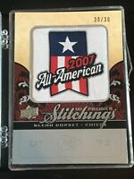 2008 UD Premier Stitchings Variation Logo Silver #PS-GD Glenn Dorsey Rookie Card