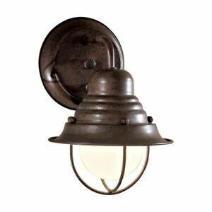 Minka Lavery 71166-91 Wyndmere 1 Light Antique Bronze Outdoor Wall Light
