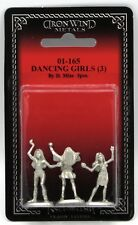 Ral Partha 01-165 Dancing Girls [3] (NPC Encounters) Female Harem Dancers Slaves