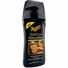 Meguiars Car Seats Gold Class Rich Leather Cleaner & Conditioner Liquid 400ml