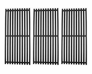 3-pack Non-Stick Cast Iron Grill Cooking Grates, Easy Installing Replacing