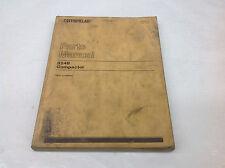 CAT Caterpillar 824B Compactor 43N1-43N493 Parts Manual UEG0077S, June 1978
