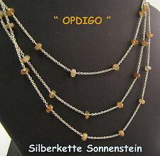 """Sonnenstein Kette  in  925/ Silber , """"OPDIGO"""""""