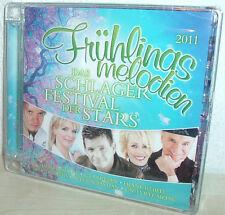 MARKUS, INGRID PETERS, WIND; PETRA FREY  uva FRÜHLINGSMELODIEN (NEU) ( 2 CD's)