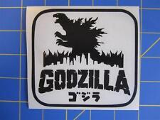 Godzilla Vinyl Decal - Sticker 13x13 - Any Color