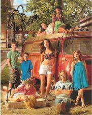 SHAMELESS CAST AUTOGRAPHED 8x10 RP PHOTO BY 4 EMMY ROSSUM WILLIAM H MACY