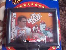 TONY STEWART FRAMED ART & 1/64 SCALE #20 HOME DEPOT CAR NICE COLLETABLE!