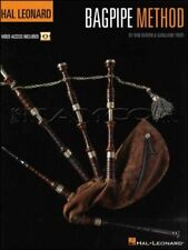 Hal Leonard Bagpipe Method Music Book/Video Learn to Play SAME DAY DISPATCH