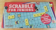 Vintage 1959 Junior Scrabble Game