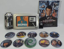 JAMES BOND : KEY RING, DRINKS COASTERS, SHAVER, FILM PROGRAMME, BOOK, CLOCK (TK)