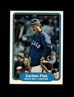 1982 Fleer Baseball #343 Carlton Fisk (White Sox) NM-MT #AA