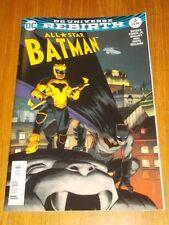 BATMAN ALL STAR #3 DC UNIVERSE REBIRTH VARIANT 2 NM (9.4)