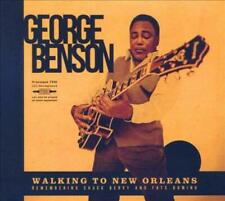 GEORGE BENSON - WALKING TO NEW ORLEANS USED - VERY GOOD CD