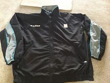 Hull Fc  Men's Lightweight Jacket Size XXXL Black Grey Blue