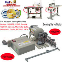 1000W Energy Saving Servo Motor for Industrial Sewing Machine for JUKI Consew