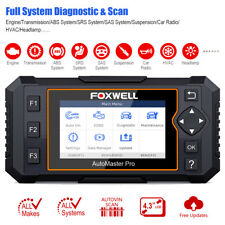 Foxwell NT624 Elite OBD2 Scanner All System Diagnostic Tool Airbag ABS Oil Reset