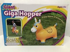 NEW DONKEY ORANGE Hopper Ride On Bouncing inflatable BOUNCE ALONG Bouncy rideon