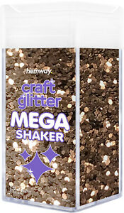 "Hemway Super Chunky Craft Glitter MEGA Shaker - 360g 1/8"" 0.125"" 3mm"