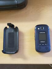 Samsung Convoy 3 SCH-U680 - Blue (Verizon) Cellular flip phone