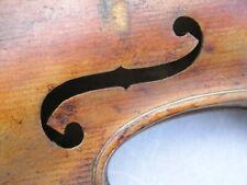 sehr alte helle hoch gewölbte Geige zum Herrichten