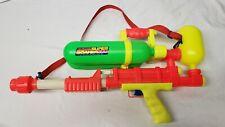 Rare 1990 Super Soaker 200 Squirt Gun Double Barrel Lamari Tested Working