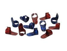 Boston Fingerpicks / Fingerplektren, Kunststoff, 12er Pack, Stärke: Medium, NEU