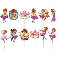FANCY NANCY balloons Latex Cupcake XL cake toppers decorations supplies party
