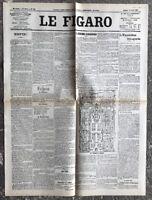 N124 La Une Du Journal Le Figaro 14 Avril 1900