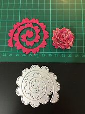 D021 Flower Quilling Rolled Cutting Die for Sizzix Spellbinders Etc. Machine