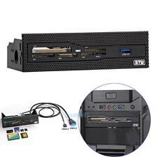 3.5'' USB 3.0 Port CF/XD/MS/M2 Smart PC Internal Card Reader Dashboard Adapters