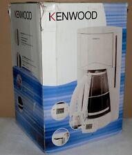 Kenwood CM660 Kaffeemaschine Glaskanne Therm Warmplatte 900W 1.7L Aroma Weiß