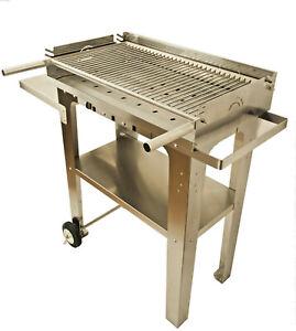 Barbecue a carbonella carbone  in acciaio inox BBQ plus 700 griglia 18/10 XXL