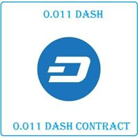 Mining Contract 1 Hour (Dash) Processing Speed (19.5 GH/s) 0.011 Dash